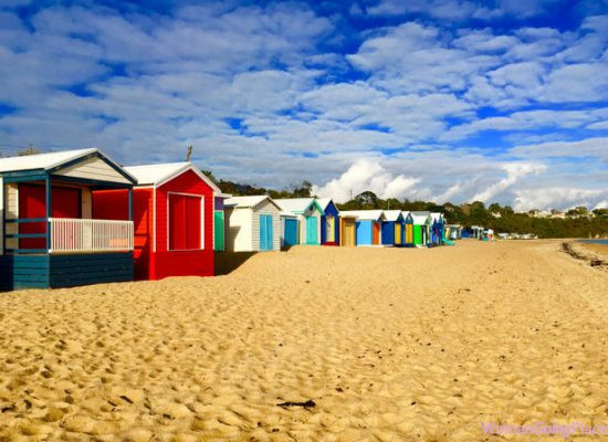 Beach boxes Australia - womangoingplaces.com.au